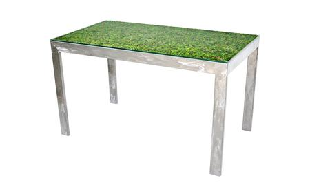 stainless steel table with moss.jpg
